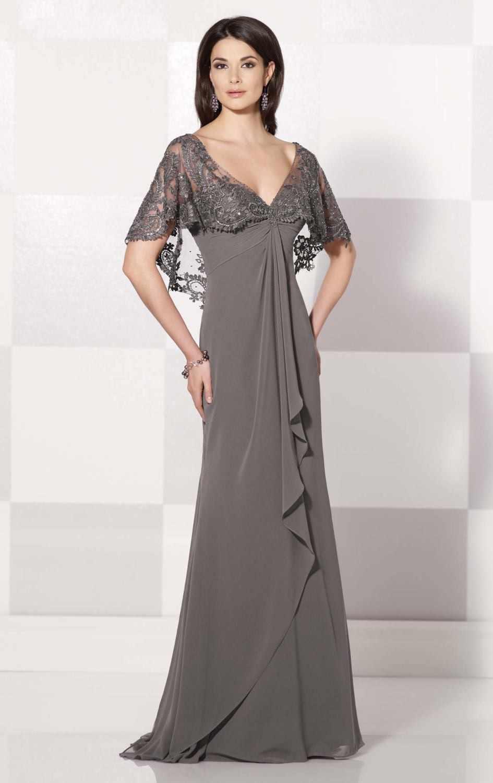 ... Unique Fashion Plus Size Mother Of The Bride Dresses 2015 Sheer Cap  Sleeve Lace Appliques V ... e6c2eb8637c6