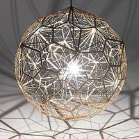 Designer Tom Dixon Modern Stainless Steel Ball Diamond Ball Chandelier Etched Gold silver copper color LED E27 pendent lamp 1030