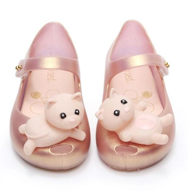 2019 Cute Cartoon Jelly Shoes Girls Sandals Infants Pig Peggy Children Outdoor Girl Sandal Baby Girls Beach Anti-skid Sandal 3