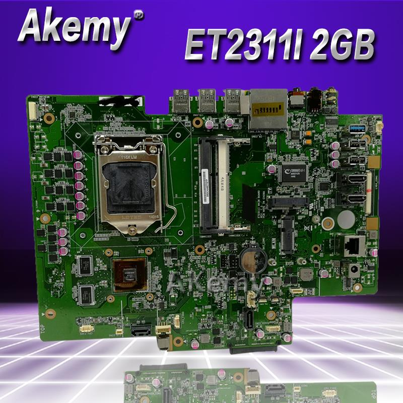 Carte mère Akemy tout-en-un ET2311I MAIN_BD V2GB pour ASUS ET2311I ET2311 100% Test Ok carte mère