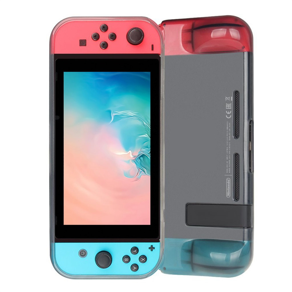 Protective Case For Nintend Switch Anti Shock Soft TPU Grip Case Cover Gamer Games Gaming Machine anti scratch Cases Box bags-in Cases from Consumer Electronics