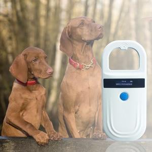 Image 3 - NEW RFID Handheld pet chip scanner FDX B EMID mini Light portable USB animal dog cat microchip Reader for vet pigeon ring race