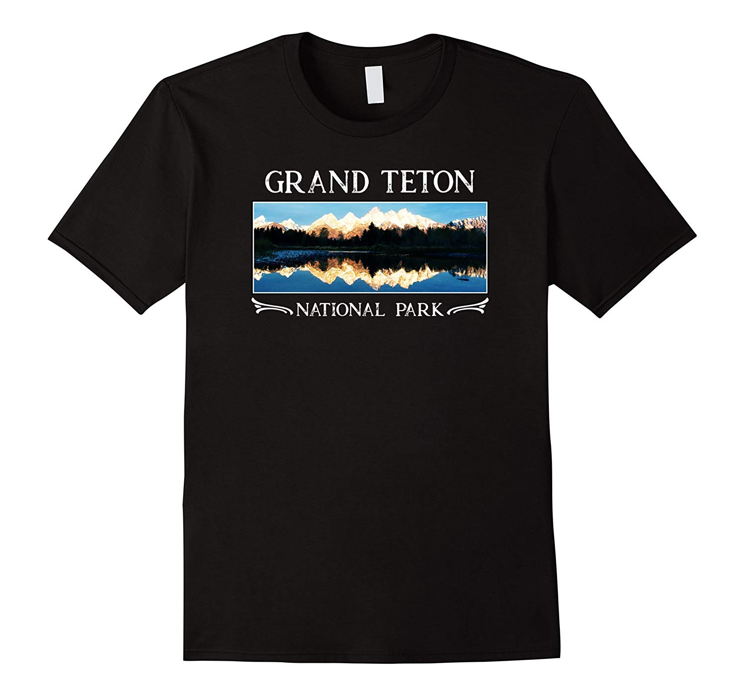 3257a62325c Grand Teton National Park T Shirt