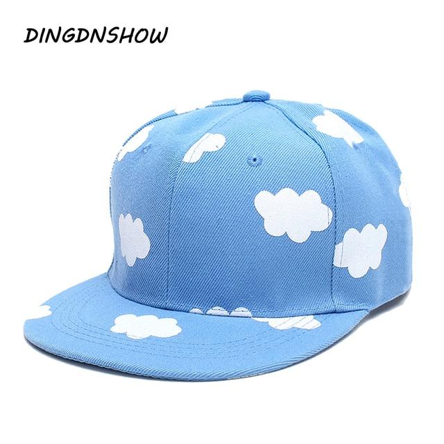 DINGDNSHOW 2019 nuevo Hip Hop sombrero adulto de impresión de algodón de  dibujos animados nube 458340a43d4