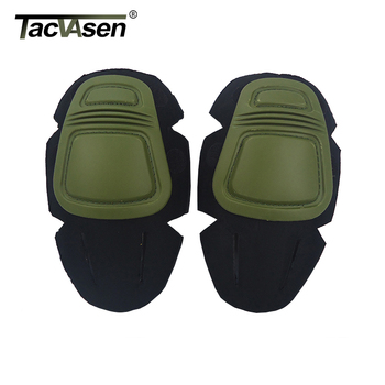 TACVASEN Tactical Uniform T-shirts Pants Knee Pads Elbow Pads Durable Military Army Airsoft Combat Paintball Pads Accessories 1