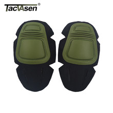 TACVASEN-uniforme táctico, camisetas, pantalones, rodilleras, coderas, almohadillas duraderas, ejército militar, Airsoft, combate, Paintball, accesorios