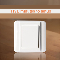 Kinetic Wireless Switch No Need Battery Switch Save Money Easy Sey Up Home Cordless Switch 70m