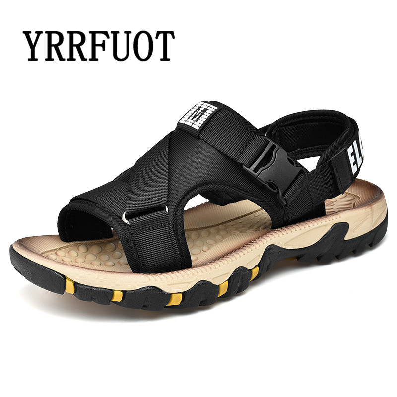 Hot  Mens casual leather Beach Comfortable slip on loafer Slippers Sandals shoes
