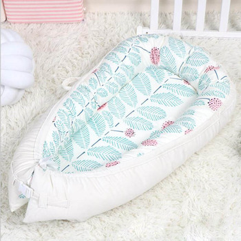 white bloom baby cotton nest