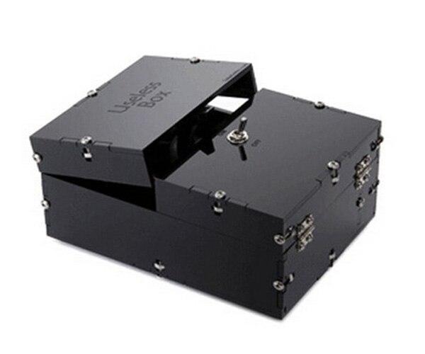Новый творческий черный бесполезный Box Игрушки-приколы забавные Игрушечные лошадки Leave Me Alone Box для подруга подарки