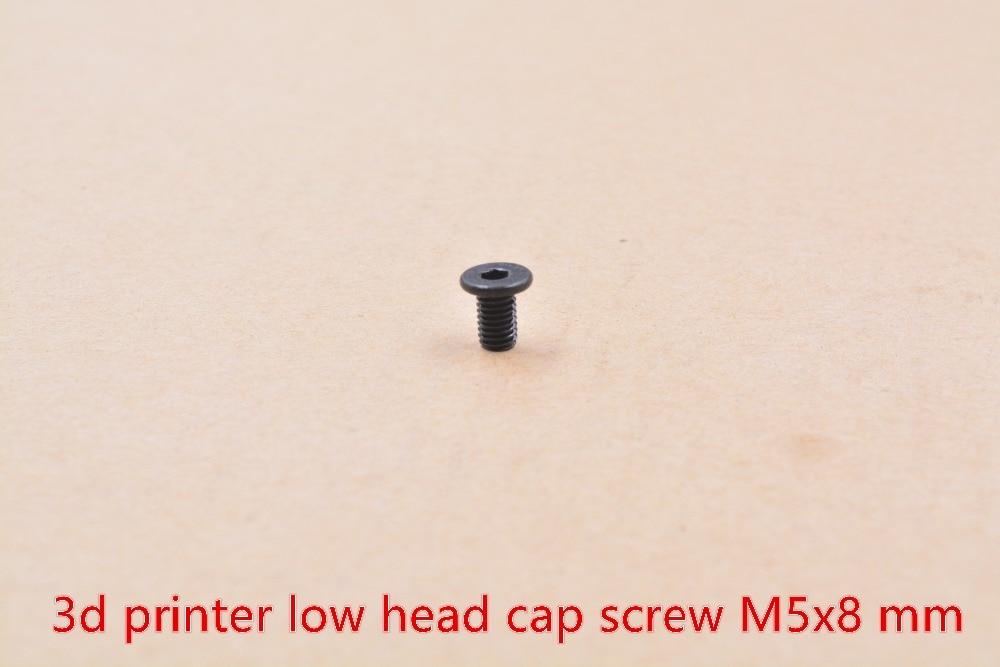 3d винт принтера Низкой Головкой M5 винт 6 мм 8 мм 10 мм 15 мм 20 мм 25 мм 30 мм 35 мм 40 мм из углеродистой стали