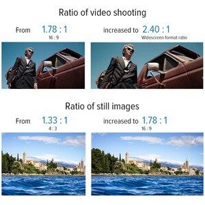 Image 5 - APEXEL 1.33X Anamorphic объектив широкоформатный фильм съемки деформации мобильный телефон объектив камеры с c креплением чехол для iPhone Huawei