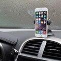 Universal 360 graus car mobile phone holder para iphone 5s 6 s além de apoio de 7 para samsung galaxy s5 s6 s7 5.5 polegada móvel