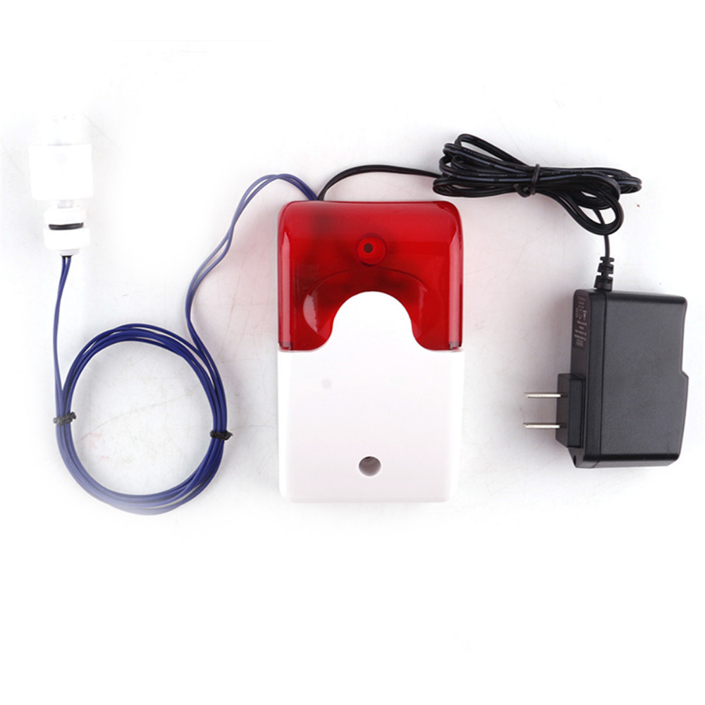 FORECUM Water Leakage Alarm Sensor Detector 110dB High Low Water Level Alarm Security Alarm System Fish Tank Aquarium Kitchen water tank level monitor control and alarm sms system rtu