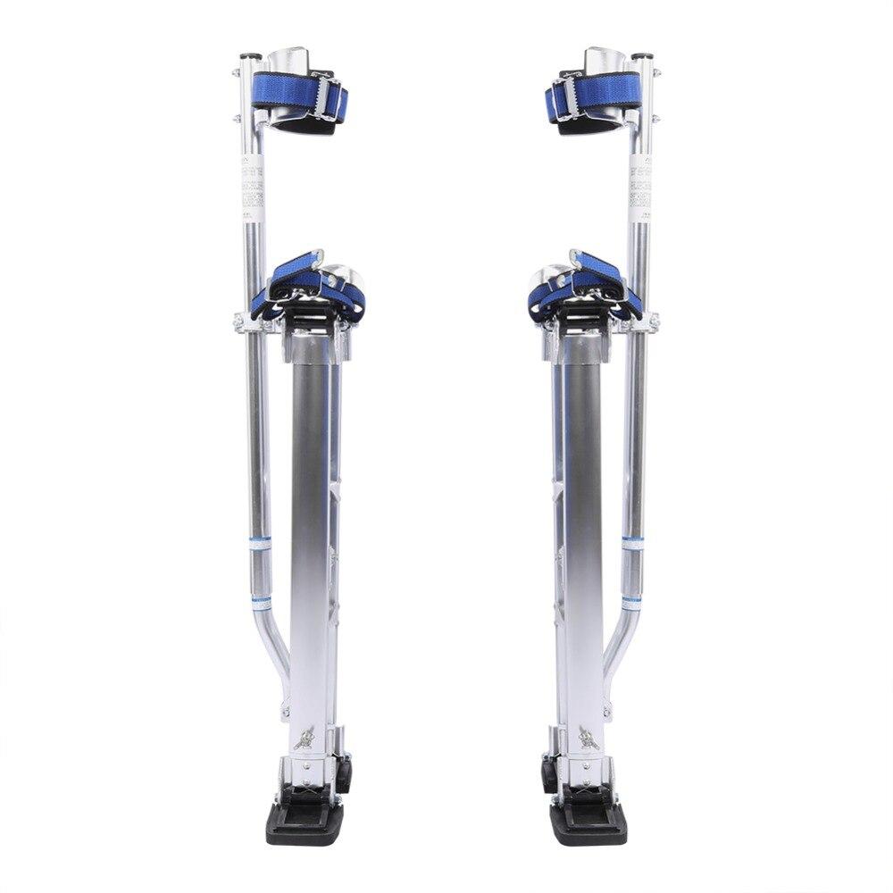 24-40 inch Adjustable Aluminum Plastering Stilt Ladder Drywall Plaste Stilts Paint Painter Tool Accessory