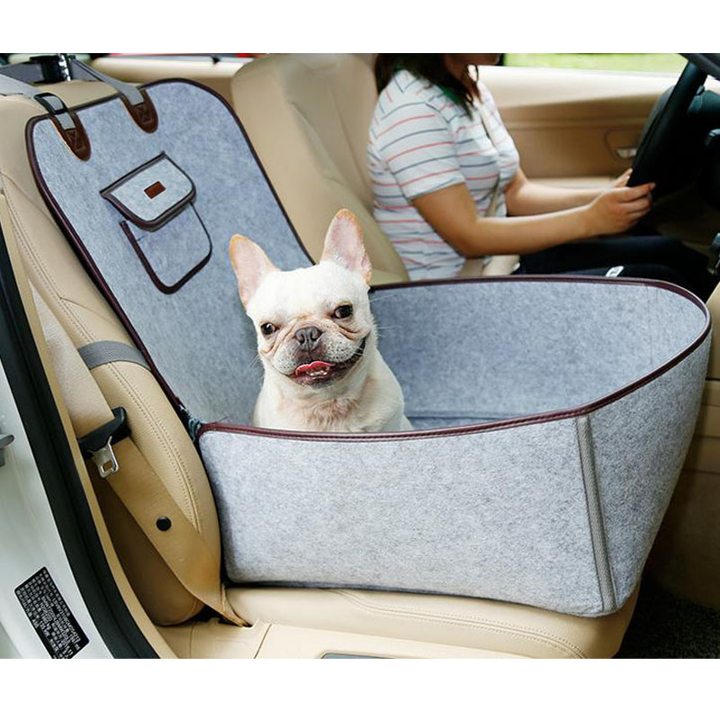 Universal Waterproof Car Designer Dog Safety Carrier Storage Bags High Quality Portable Auto Front Seat Pet Cover