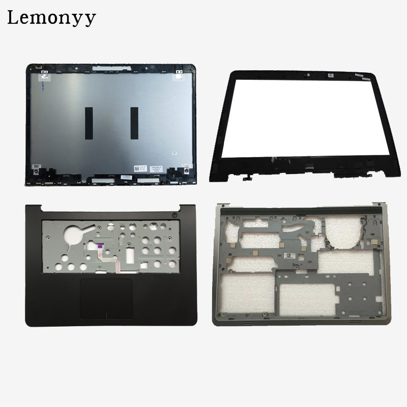 NEW shell For Dell Inspiron 14 5000 5447 5445 5448 LCD Top Cover/LCD front bezel/Palmrest Upper Touchpad/bottom case cover laptop lcd top cover for hp probook 450 455 g2 lcd front bezel palmrest upper with touchpad bottom case cover 791689 001