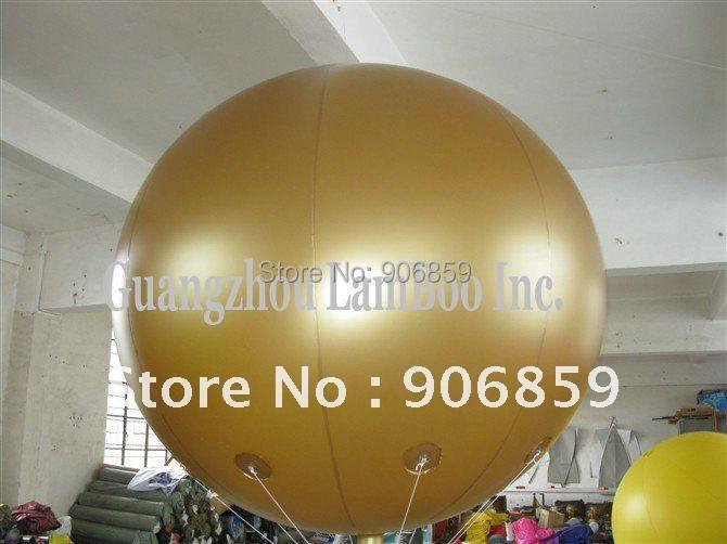 Горячая 2 метра Золотой воздушный Гелиевый шар для вашей рекламы, мероприятий, выставки, продвижение/хороший цвет