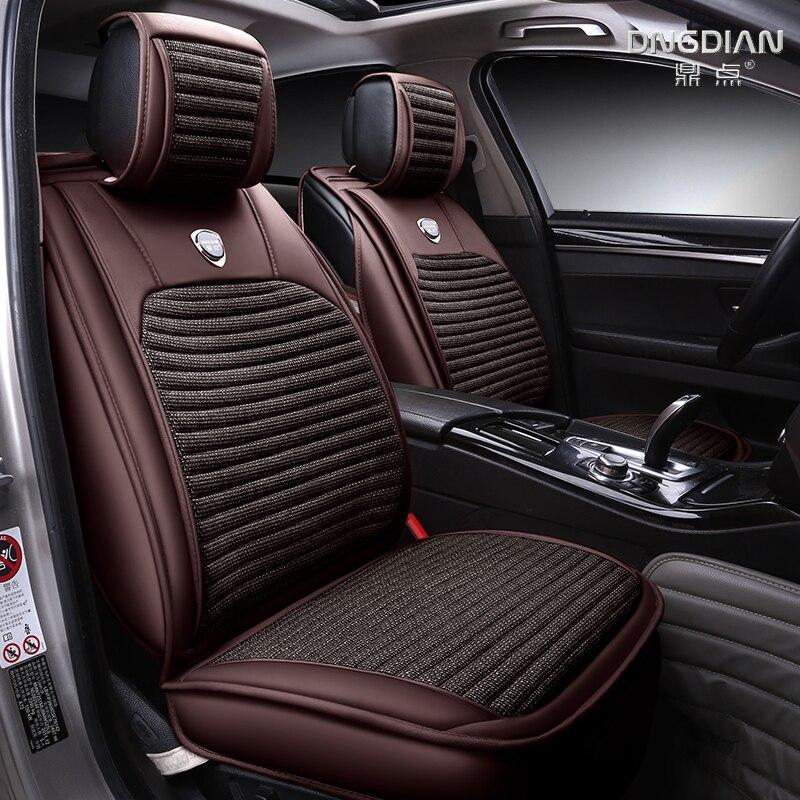 3D Full Surround Design Car Seat Cover Car Cushion For Volkswagen Beetle CC Eos Golf Jetta Passat Tiguan Touareg Sharan