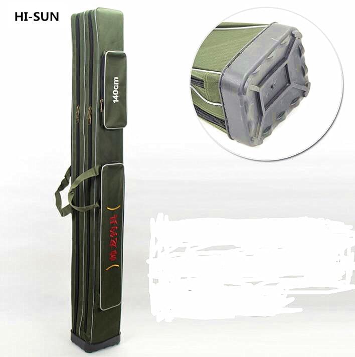 Super long 130cm 140cm 160cm 170cm fishing bag 150cm 2 layer rubber fishing rod bag long pole Sofa 160 cm lang