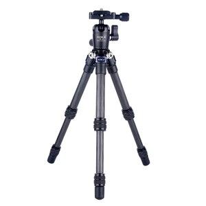 Image 3 - AOKA CMP163C 496g max loading 3kgs lightweight table mobile DSLR carbon fiber mini tripod for camera phone