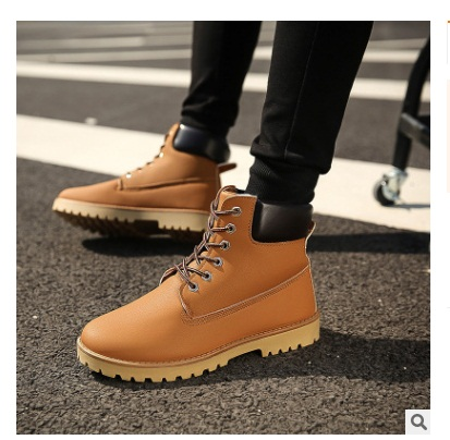 5cb63deefc8 2018Brand Men s Boots Martens Leather Winter Warm Shoes Motorcycle Mens  Ankle Boot Doc Martins Autumn Men Oxfords Shoes39 48-in Motorcycle boots  from Shoes ...