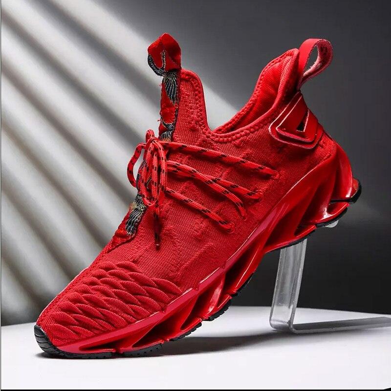 Times New Roman hommes baskets d'extérieur PU matériel semelle creuse chaussures semelle intermédiaire confortable respirant bas hommes chaussures de sport