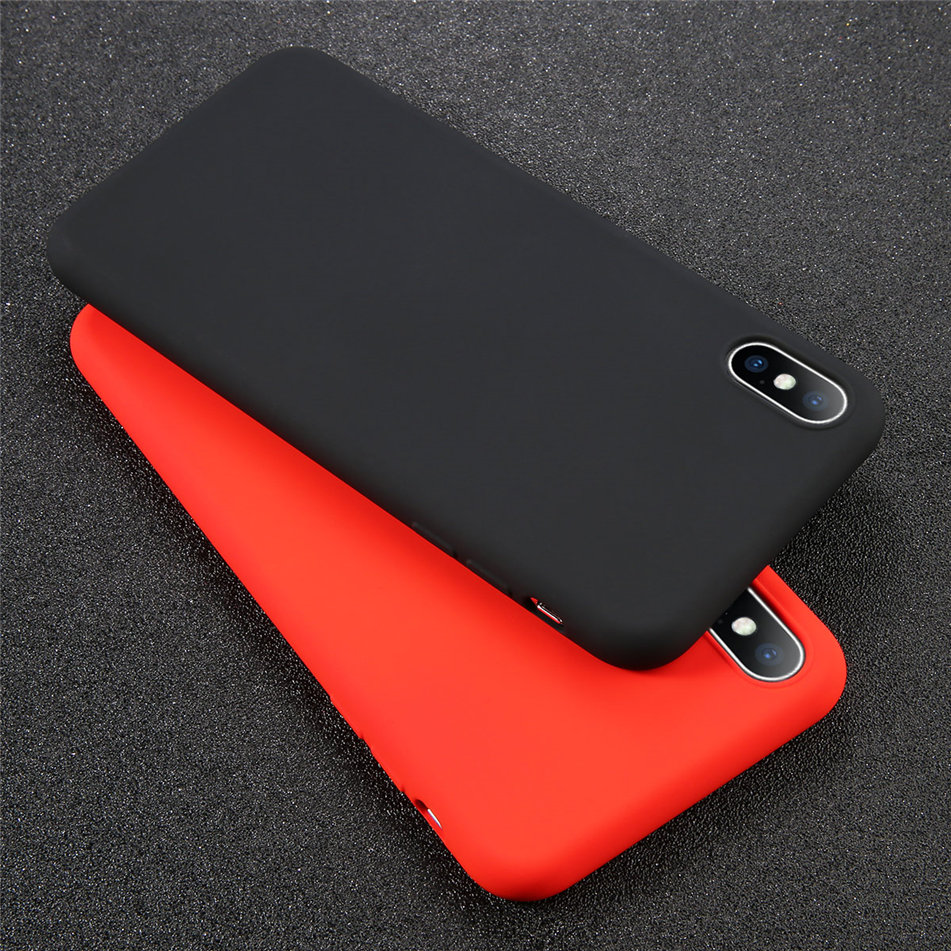 HTB15NxQXG1s3KVjSZFAq6x ZXXaO - USLION Silicone Solid Color Case for iPhone SE 2020 11 Pro MAX XR X XS Max Candy Phone Cases for iPhone 7 6 6S 8 Plus Soft Cover