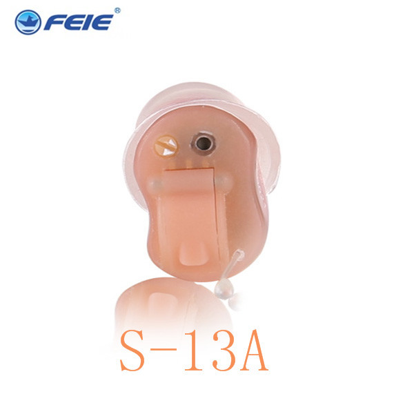Newest FEIE Ear Cheap Amplifier Sound Hearing Aid -ast programmierbare cic Drop Shipping feie hearing aid s 10b affordable cheap mini aparelho auditivo digital for mild to moderate hearing loss free shipping