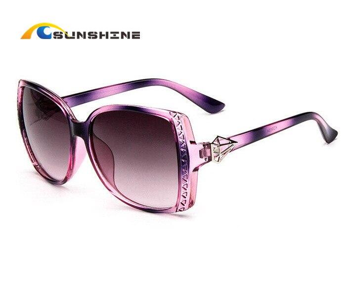2016 Star Style Oval Sunglasses Women Luxury Fashion Summer Sun Glasses Vintage Brand Designer Outdoor Eyeglasses