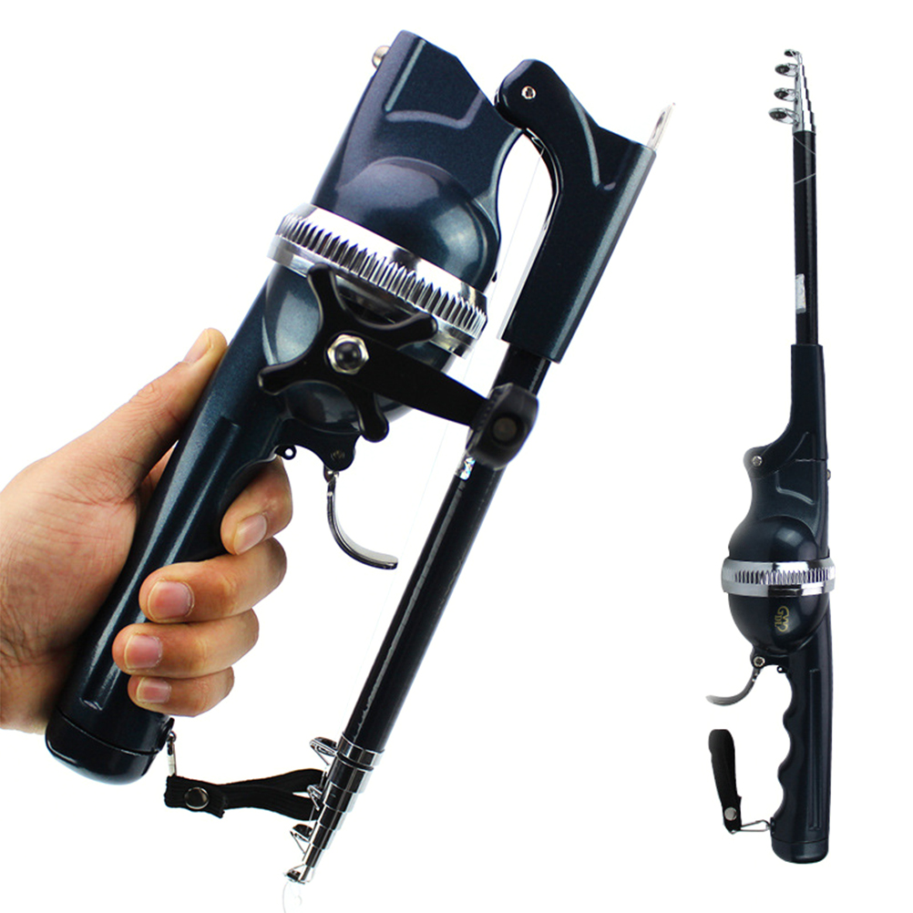 Fishing Gear Folding Pocket Fishing Pole Telescopic Rod with Fishing Line Portable Fish Rod diff drop kit for hilux