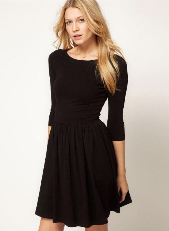Женские трикотажные туники платья