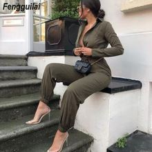 2019 Fashion Women's Jumpsuit Sexy Couplet trousers Women Boho Playsuit Rompers  autumn Casual