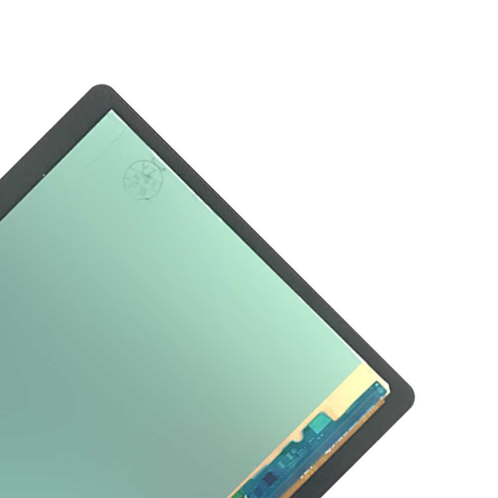 Nuevo 100% LCD Tab S T800 T805 SM-T800 pantalla táctil digitalizador sensores montaje Panel reemplazo para Samsung Galaxy T805