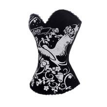 Модный принт Щепка птица женщина черный цвет дешевая женская блуза для женщин