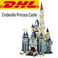 2017 Nueva LEPIN 16008 4080 Unids Cenicienta Princesa Castillo Kits de Edificio Modelo Bloques Ladrillos Compatibles Juguetes Para Regalo de Los Niños 7784