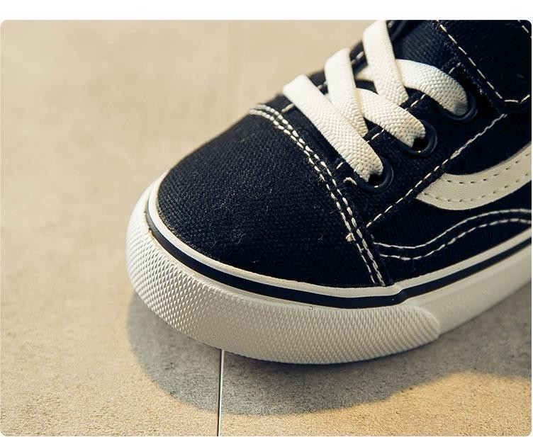 Boy's Light Canvas Sneakers