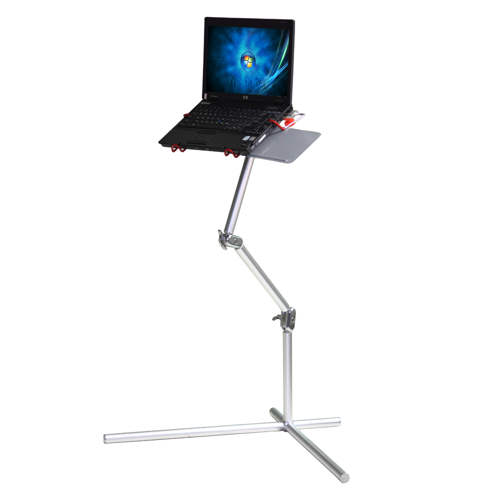 Portable folding laptop notebook table desk adjustable laptop stand - Aliexpress Com Buy Aluminum Folding Table 360 Portable Folding Laptop Computer Notebook Table Stand Desk With Mouse Pad Desk Table 3 Colors From Reliable