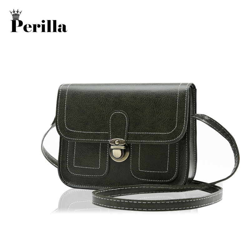 Perilla Woman Crossbody Bag Fashion Mini PU Leather Shoulder Bag Messenger Casual Bags Brand Designer Luxury bags sac a main luxury women crossbody bags designer leather shoulder bags woman bag 2017 brand tote bag sac a main femme nouvelle collection