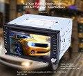 Горячий Продавать 6.2 ''Bluetooth V3.0 Двойной Дин Универсальный стерео Сенсорный Экран Dvd-плеер Gps-навигация Авто Радио USB/SD FM