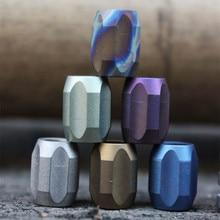 Colorful Series Titanium Alloy Knife Beads A Pendant Outdoor Pendant Phone Pure Titanium Camping Gear Survival EDC Multi Tools