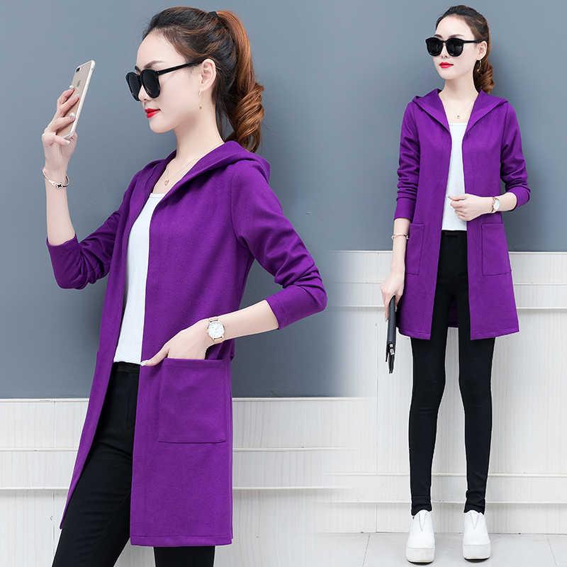Студент с капюшоном Женская ветровка пальто весенняя одежда Новые популярные плащ для Женская мода молодежная одежда для женщин 1133