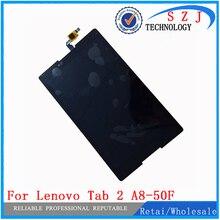 Новый 8 »дюймовый для Lenovo Tab 2 A8-50F Tab2 A8-50LC A8-50 Планшеты PC Сенсорный экран + ЖК-дисплей Дисплей Узлы и агрегаты для автомобиля случае бесплатная доставка
