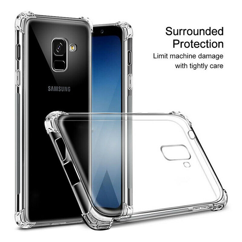 Soft TPU Case For Samsung Galaxy S10 Plus S10E Transparent Silicone Back Cover For Samsung Galaxy