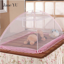 JaneYU 90*140cm Portable Baby Crib Mosquito Net Tent Multi-Function Cradle Bed Infant Foldable Netting for chindren bed