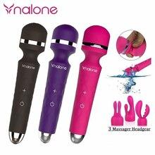 Nalone супер мощные многоскоростные водостойкие G-Spot палочка Av секс-игрушки, Волшебная палочка массажер-вибратор секс-товары для женщин