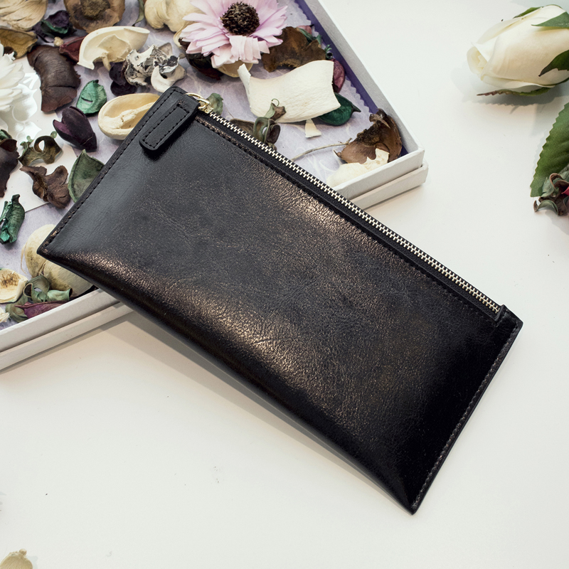 High quality genuine leather wallet cowhide women wallets multifunctional long design Wallet Zipper Coin Purse Card Holder new 2017 free shipping women wallets short high quality genuine leather wallet for women cowhide purse with coin pocket