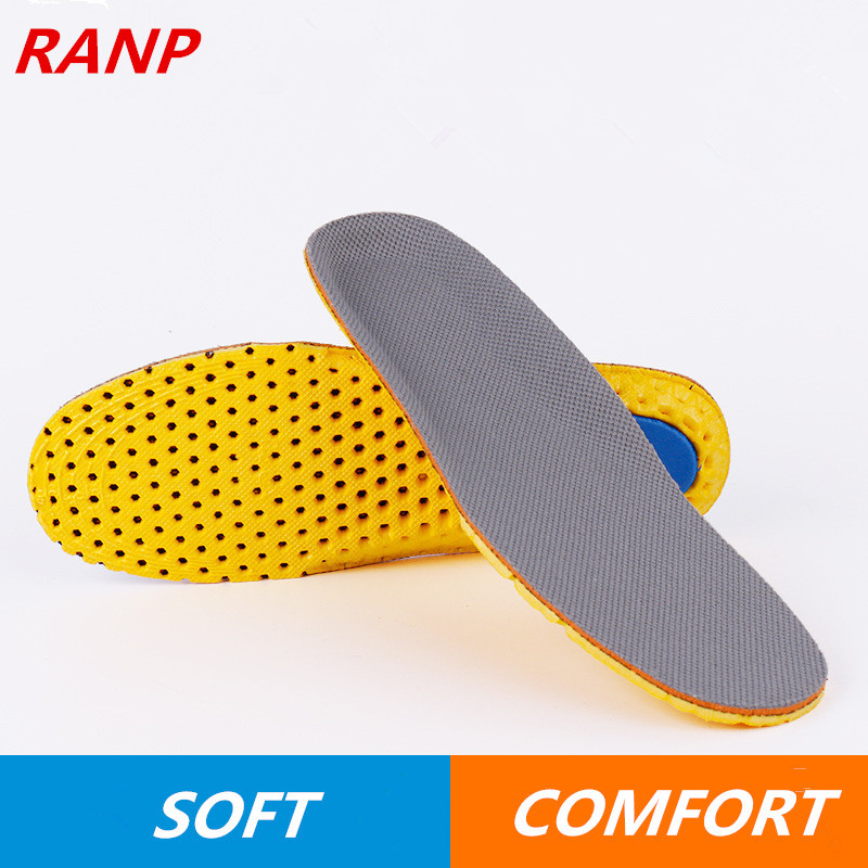 Hot Sale Memory Foam Flat Feet Heel Cushion Breathable GEL Honeycomb Orthotic Orthopedic Sport Insoles Shoes Pads Men &Women hot sale silicone gel comfort heel cups pads insoles inserts protect feet for men women