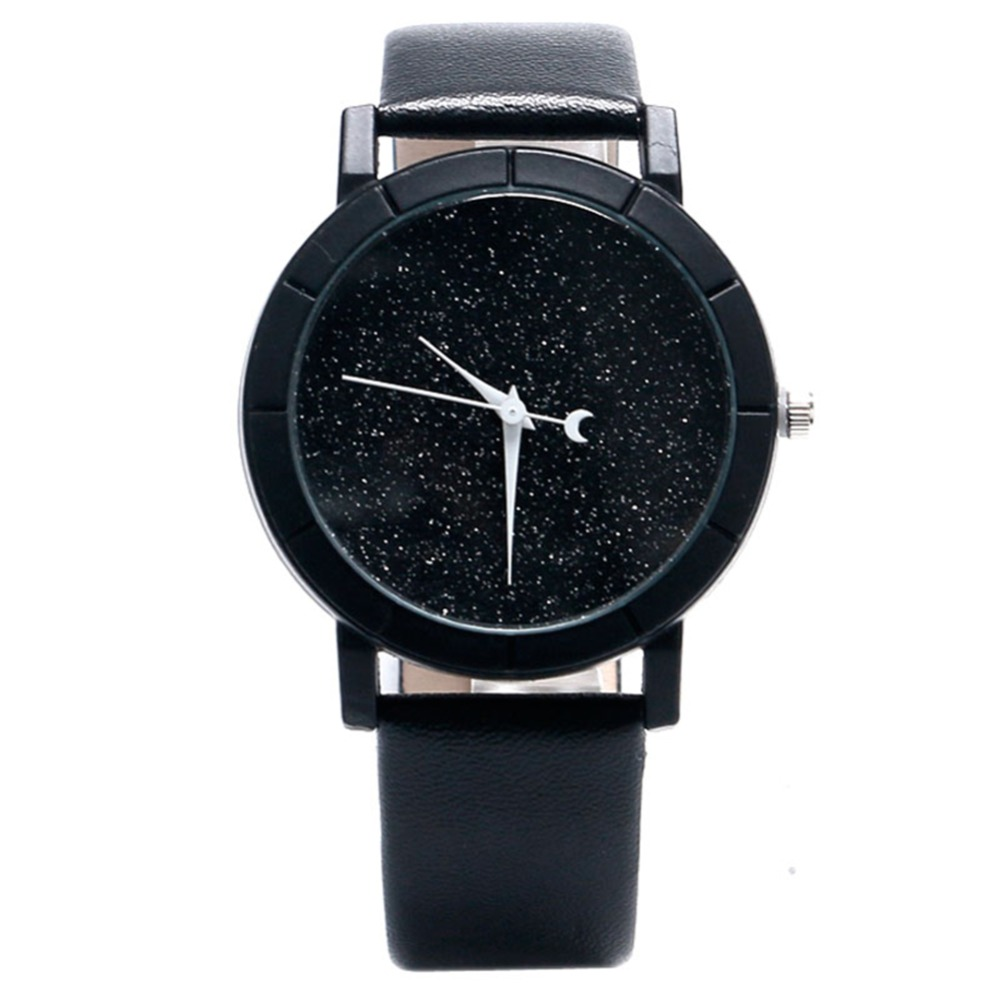 Lovely Moon and Stars Design Wrist Watch Women Ladies for VIP drop Shipping Christmas Gift