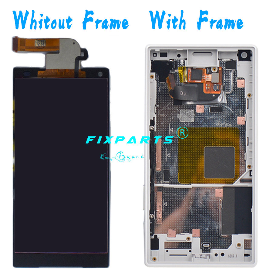 SONY Xperia Z5 Compact LCD Display With Frame Touch Screen Digitizer